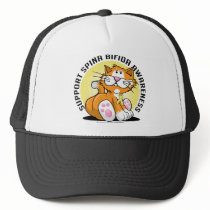 Spina Bifida Cat Trucker Hat