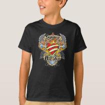 Spina Bifida Cross & Heart T-Shirt