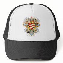 Spina Bifida Cross & Heart Trucker Hat