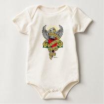 Spina Bifida Dagger Baby Bodysuit