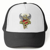Spina Bifida Dagger Trucker Hat