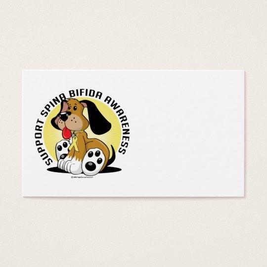 Spina Bifida Dog Business Card