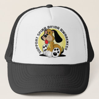 Spina Bifida Dog Trucker Hat