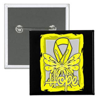 Spina Bifida Hope Butterfly Button
