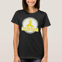 Spina Bifida Hope Support Love Womens Tee