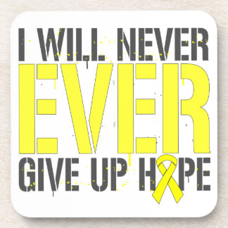 Spina Bifida I Will Never Ever Give Up Hope. Drink Coasters