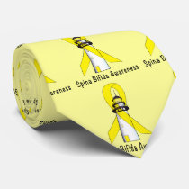 Spina Bifida Lighthouse of Hope Neck Tie