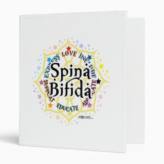 Spina Bifida Lotus 3 Ring Binder