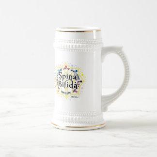 Spina Bifida Lotus Coffee Mug