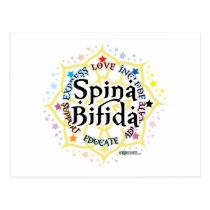 Spina Bifida Lotus Postcard