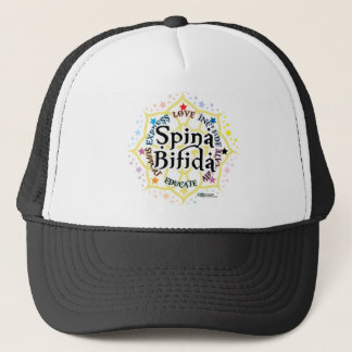 Spina Bifida Lotus Trucker Hat