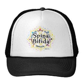 Spina Bifida Lotus Trucker Hat