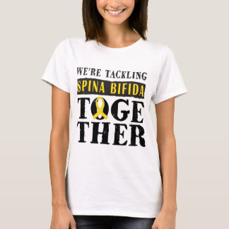 Spina Bifida Support slogan Ladies Tee