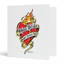 Spina Bifida Tattoo Heart Binder