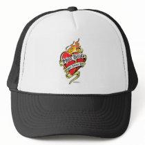 Spina Bifida Tattoo Heart Trucker Hat