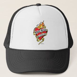 Spina Bifida Tattoo Heart Trucker Hat