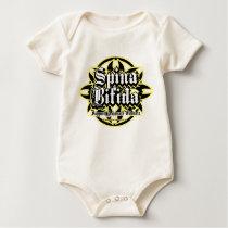 Spina Bifida Tribal Baby Bodysuit