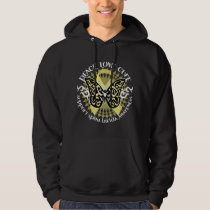 Spina Bifida Tribal Butterfly Hoodie