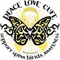 Spina Bifida Tribal Butterfly Statuette