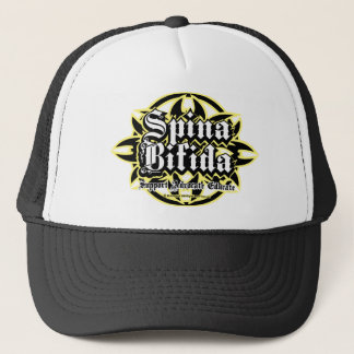 Spina Bifida Tribal Trucker Hat