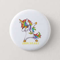 SPINA BIFIDA Warrior Unbreakable Button