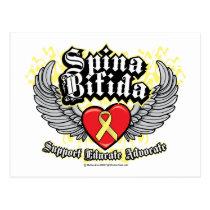 Spina Bifida Wings Postcard