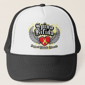 Spina Bifida Wings Trucker Hat