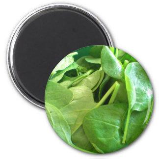 Spinach 2 Inch Round Magnet