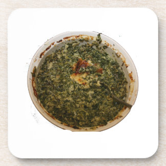 spinach dip photo design image drink coasters