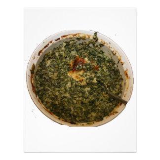 spinach dip photo design image personalized invite