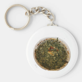 spinach dip photo design image keychains