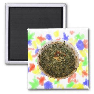 spinach dip photo design image fridge magnets