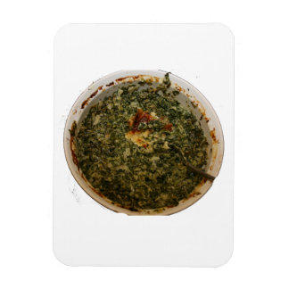 spinach dip photo design image rectangle magnets