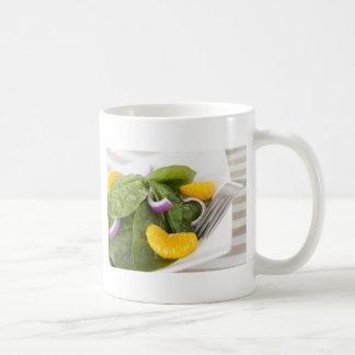 Spinach Mandarin Salad Mug