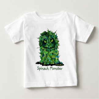 Spinach Monster Baby T-Shirt