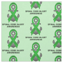 Spinal Cord Injury Anchor of Hope Fabric