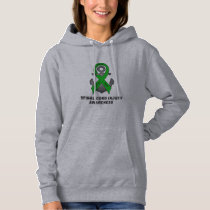 Spinal Cord Injury Anchor of Hope Hoodie