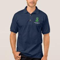 Spinal Cord Injury Anchor of Hope Polo Shirt