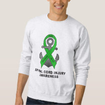 Spinal Cord Injury Anchor of Hope Sweatshirt