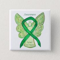 Spinal Cord Injury Angel Awareness Ribbon Pins