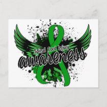 Spinal Cord Injury Awareness 16 Postcard