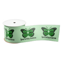"Spinal Cord Injury Awareness 3"" Satin Ribbon"