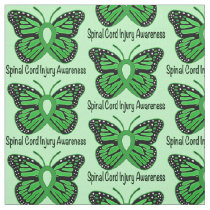 Spinal Cord Injury Awareness Fabric