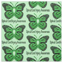 Spinal Cord Injury Awareness Fabric