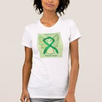 Spinal Cord Injury Awareness Ribbon Angel Shirt