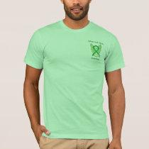 Spinal Cord Injury Awareness Ribbon Angel Shirts