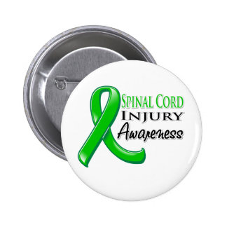 Spinal Cord Injury Awareness Ribbon Buttons
