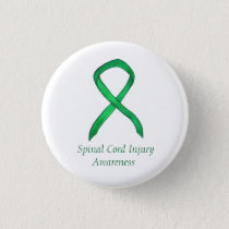Spinal Cord Injury Awareness Ribbon Custom Pins