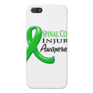 Spinal Cord Injury Awareness Ribbon Cases For iPhone 5