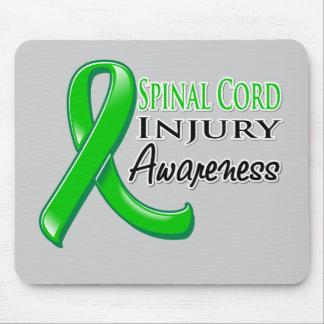Spinal Cord Injury Awareness Ribbon Mouse Pad